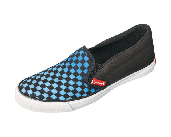 CHECKERS BLUE / BLACK